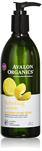 Avalon Organics Lemon Glycerin Hand Soap 350ml