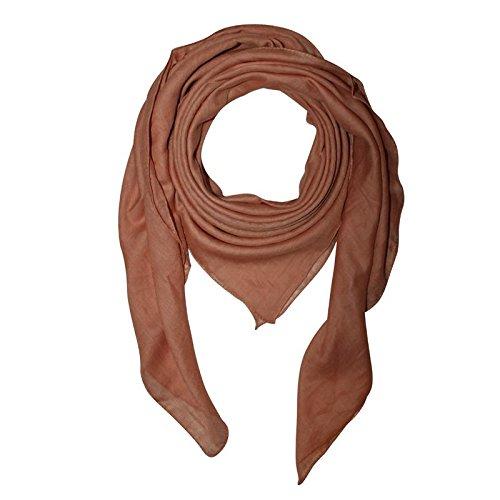 quadratisches Tuch Baumwolltuch Punkte batik 2,5 cm bunt