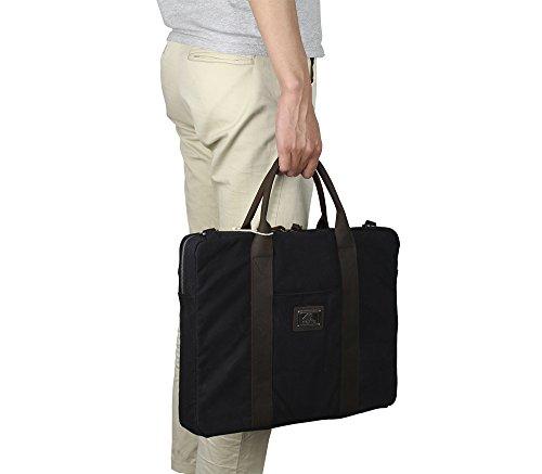 MaxMind , Borsa Messenger  beige Khaki Black