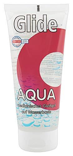 ORION Gleitgel Aqua 200 ml - medizinisches Gleitmittel auf Wasserbasis für langanhaltende Gleitfreuden, Made in Germany