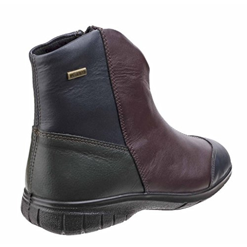 Donne Cotswold Bordo Boots Signore Ankle Pelle Impermeabile Chalford In Casuale U77rdqw