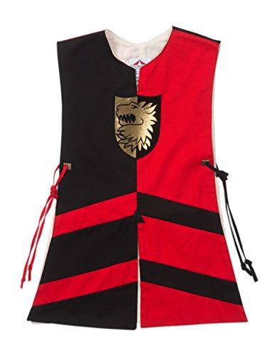 Fantashion G 714 - Disfraces infantiles, Tabard Pablo, tamaño 1, negro/rojo