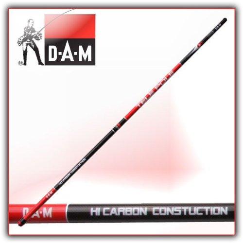 DAM CARBON TELE-POLE 6M