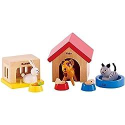 Hape E3455 - Haustiere für die ganze Familie