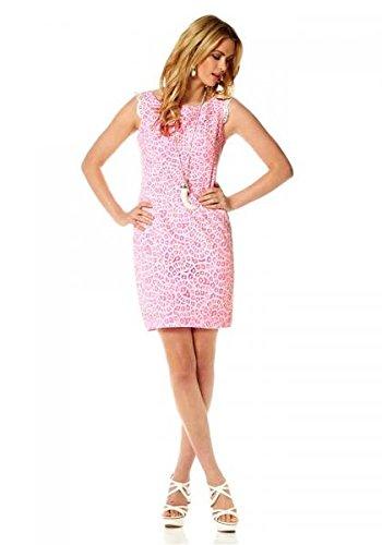 jessica-simpson-designer-spitzenkleid-creme-pink-kleider-grosse-8