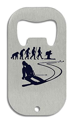 LukeTee Evolution of Skiing Flaschenöffner