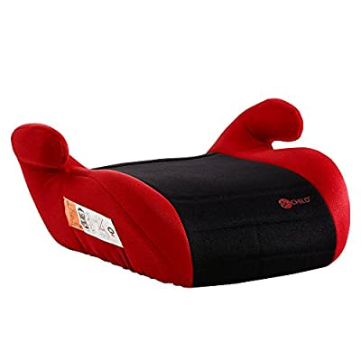 Mychild Button Booster Seat Red/Black  Dorel UK Limited