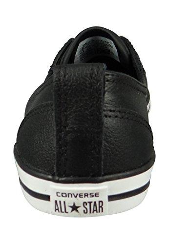 Ballet Converse Chucks All Star Ballerina 549616C Dainty Black Lace Noir Black Black White