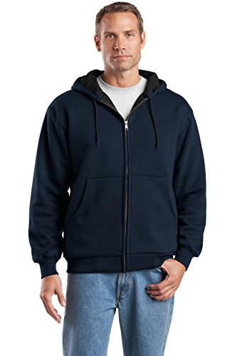 CornerStone® - Heavyweight Full-Zip Hooded Sweatshirt with Thermal Lining. -