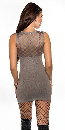 In-Stylefashion -  Vestito  - Donna Cappuccino