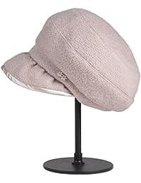 Categoría sombreros de mujer, nuevo para otoño/invierno moda beret sombreros de mujer ,beige