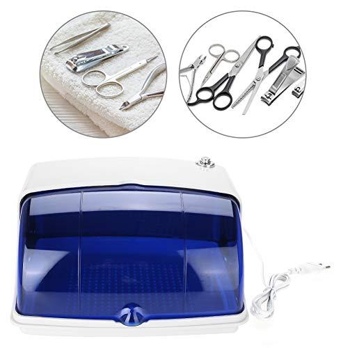 Sterilizzatore UV strumenti per unghie 5W, sterilizzatore pulito per disinfezione salone professionale con rimovibile per strumento dentale per unghie