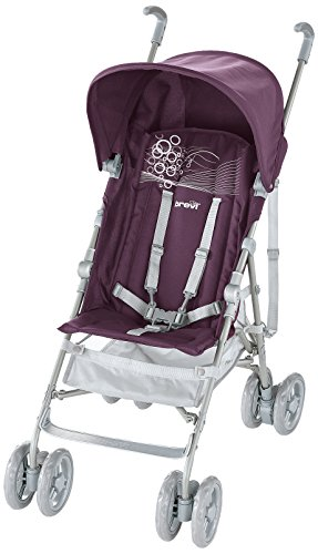 Lightweight Umbrella Folding Baby Stroller Brevi B-Light 043 viola violet