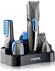 Nova 9 in 1 Grooming Kit- NG-1175 (Grey)