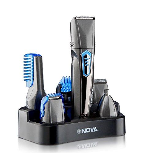 Nova 9 in 1 Grooming Kit  NG 1175  Grey