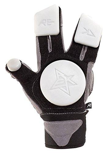 Rekd Slide Gloves Handschuhe Schutz, Unisex Erwachsene L schwarz (Skateboard-slide Handschuhe)