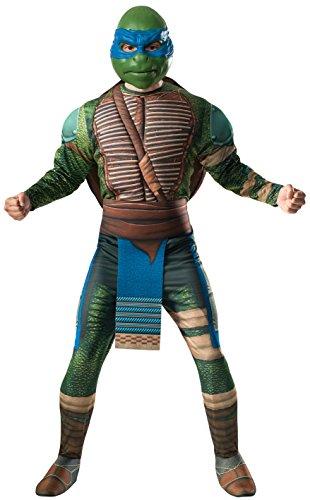 Unbekannt AEC-cs980441-Kostüm 3D Schildkröte Ninja Leonardo-Größe Standard (Kostüm Ninja Realistische)