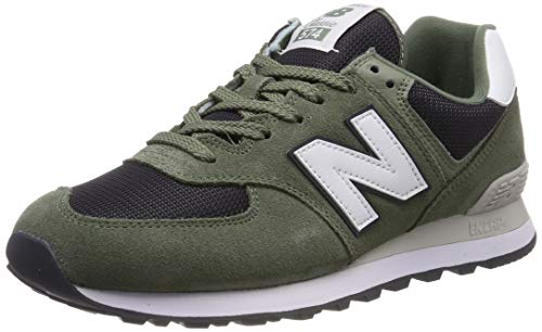 New Balance ML574 MLD Mineral GreenBlack Overload