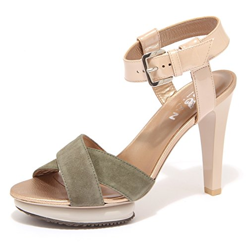 85739 sandalo HOGAN H226 OPTY SANDAL verde scarpa donna shoes women [38]