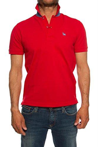 TORO Herren Poloshirt Rot