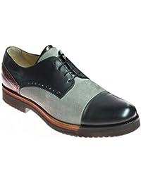f18e37ba3ab15f Grandiscarpe Chaussures Basse avec des Lacets Chaussures à la Main  Multicolore Taille 41.5