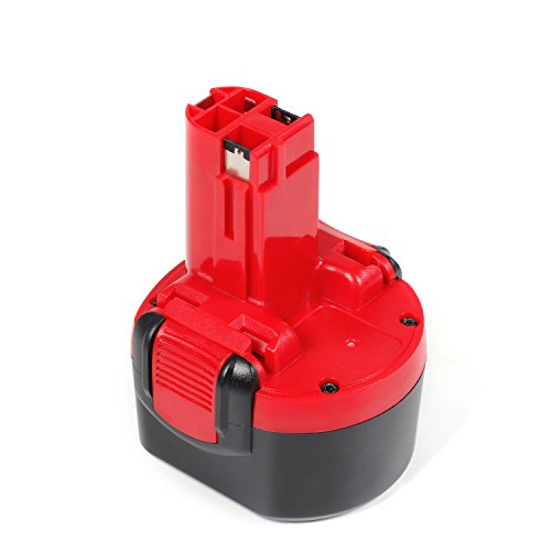 jolege 9.6V 3.0Ah Ni-MH-Akku für Bosch BAT048 BAT100 BAT119 BPT1041 2607335272 2607335461 GSR 9.6VE-2 PSR 9.6VE-2 PSR960 Akku-Bohrschrauber
