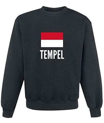 Felpa Tempel city Black