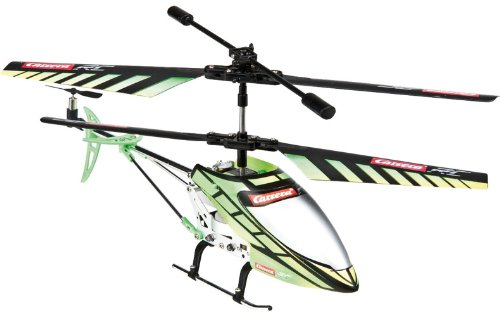 Carrera RC Helicopter Green Chopper thumbnail