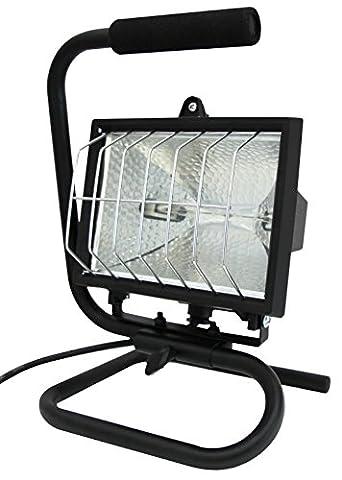 Electraline 63008 Projecteur halogène portatif 400