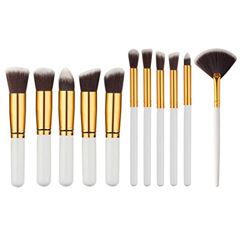 Ouneed® Lot Pinceau Brosse Maquillage (mini 11 pcs A)