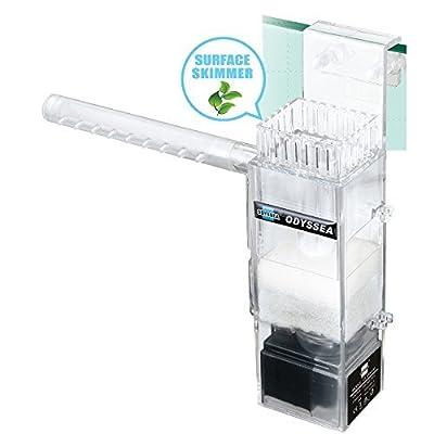 Odyssea Clean 100Écumoire Surface Aquarium Filtre 450L Plante Interne