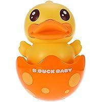 Decdeal Stehauf-Ente Stehaufmännchen Spielzeug mit Innen Glock B.Duck preisvergleich bei kleinkindspielzeugpreise.eu