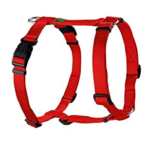 HUNTER Vario-Rapid Nylon Harness, 20/48 x 70 cm, Medium, Red
