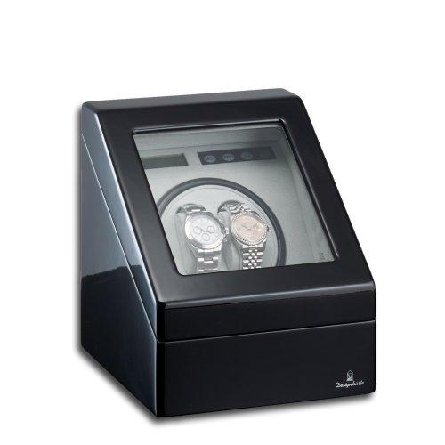 Designhütte Uhrenbeweger Monaco Schwarz