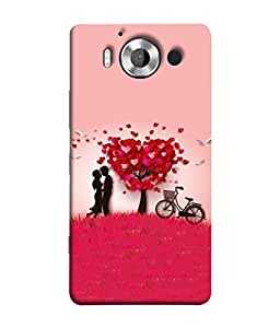 Digiarts Designer Back Case Cover for Microsoft Lumia 950, Nokia Lumia 950 (Saying Quotation Teaching Learn)