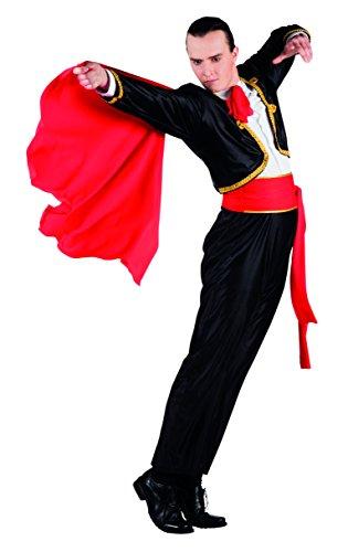 Boland 83833 Karnevalskostüm, schwarz, M/L (Torero Kostüm Männer)