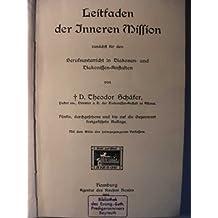 Leitfaden der inneren Mission zunächst für den Berufsunterricht in Diakonen- und Diakonissen-Anstalten