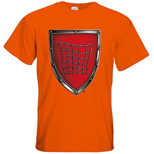getshirts - Das Schwarze Auge - T-Shirt - Die streitenden Königreiche - Wappen Salza Orange