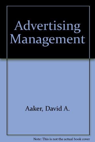 Advertising Management Book Pdf