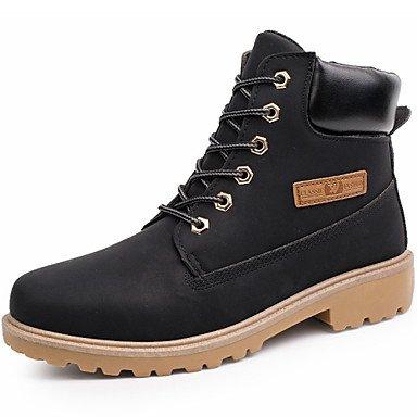 Love & scarpe scarpe da uomo Outdoor/Ufficio & carriera/Lavoro e dovere/vestito/Casual Sintetico Stivali Nero/Giallo/Grigio, Taupe, us8 / eu40 / uk7 / cn41