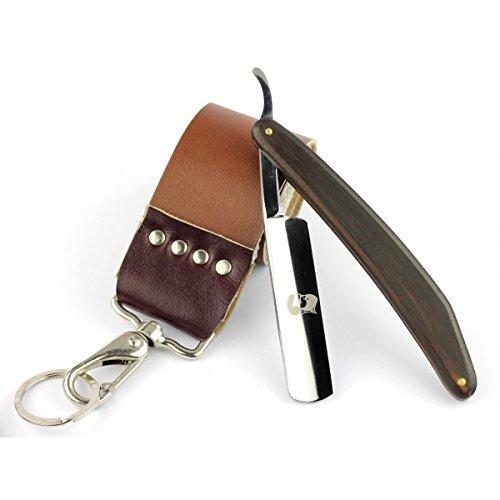 Rusty Bob - Rasoio in acciaio inox String-cintura in un set completo - senza Arko Sapone da barba e senza pennello da barba - Set 1