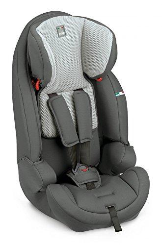 Kindersitz Le Mans (9-36 kg) Motiv Dunkelgrau/Grau