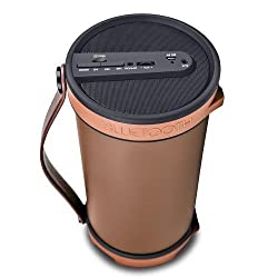 iBall Musi Barrel BT31�Portable Bluetooth Speakers (Chocolate Brown)