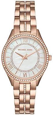 ساعة مايكل كورس لورين بثلاث عقارب كوارتز الحركة للنساء