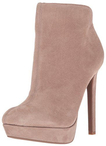 Jessica Simpson Women's Zamia Ankle Boot, Warm Taupe, 6 Medium US (Ankle Jessica Boots Simpson)