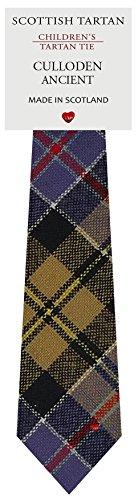 I Luv Ltd Garçon Tout Cravate en Laine Tissé et Fabriqué en Ecosse à Culloden Ancient Tartan