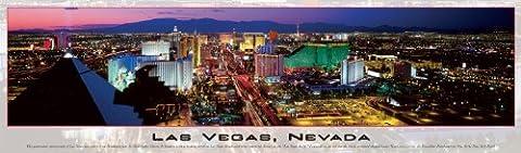 Las Vegas Skyline Panoramic Puzzle - 750-Piece