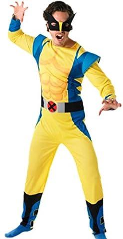erdbeerloft–Messieurs Wolverine movie Muscle Costume de carnaval avec masque, M–L
