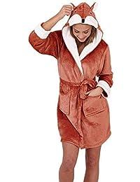 Loungeable Ladies Luxury Fleece Super Soft Lounge Nightwear Robe
