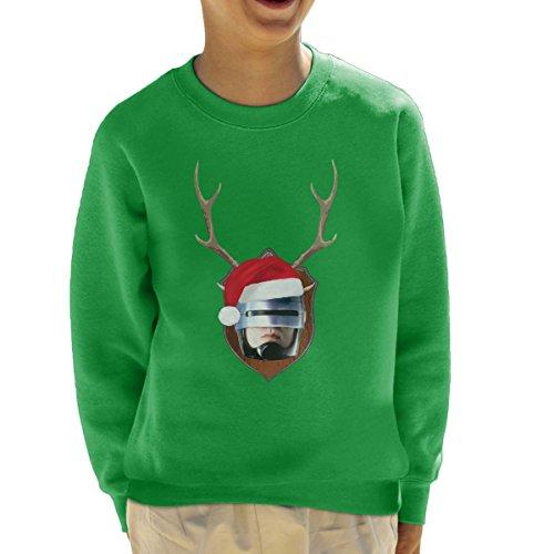 robocop-christmas-antler-head-kids-sweatshirt